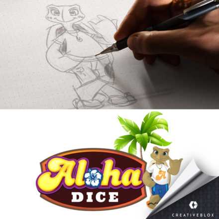 alohadicemascot_Portfolio_byCreativeblox