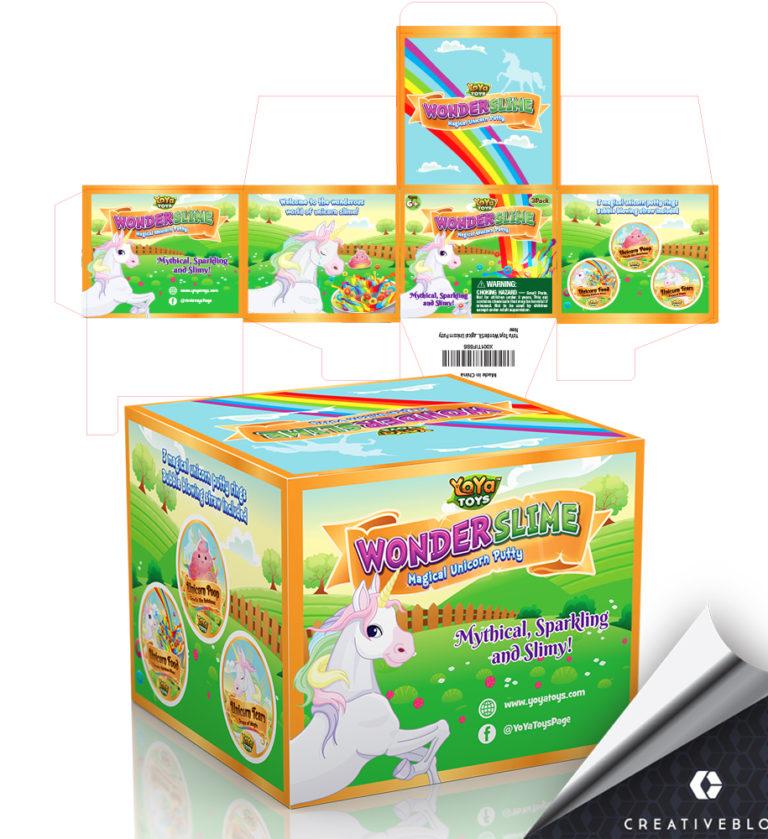 Wonder slime_packagingthemedesign_bycbx